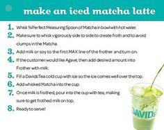 Make an Iced Matcha Latte by DAVID'sTEA, via Flickr