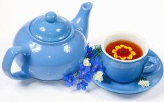 Herbata, Filiżanka, Kwiaty