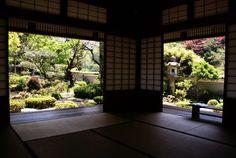 Room and Garden, Hori Teian, Tsuwano Shimane Prefecture.
