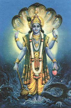 God Photos: Lord Vishnu Beautiful Wallpapers Collection