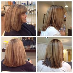 Thermal Keratin Relaxor before and after pictures by Kelly at Style Masters Malvern