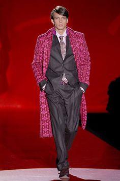 Etro Fall 2006 Menswear  looks like a thobe kind of.