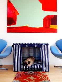 Crate Covers/Beds-I will def have to make one of these for Gixer!