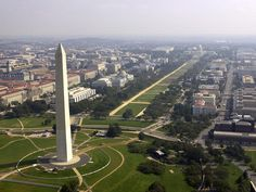 The National Mall and Memorial Parks in Washington DC