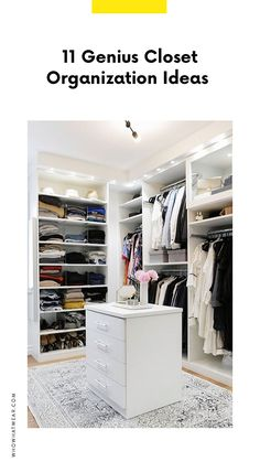 Ready to clean out your closet? Today we're sharing the top closet organization tips from Pinterest.