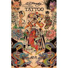 XENOS Poster: Ed Hardy - japanese online te koop. Bestel je poster, je 3d filmposter of soortgelijk product Maxi Poster