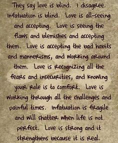 Love is all seeing and accepting Real Love, What Is Love, True Love, My Love, All Seeing, Instagram Widget, Strong Love, Interesting Quotes, Speak The Truth