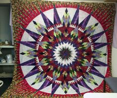 Amazon Star, Quiltworx.com, Made by Launna Hayes.