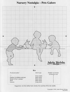Gallery.ru / Фото #174 - DIVERSOS - samlimeq Blackwork Embroidery, Embroidery Patterns, Cross Stitch Patterns, Stitch Doll, Point Lace, Cross Stitch Baby, Back Stitch, Crochet For Kids, Knitting Yarn