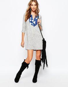 Image 4 ofStevie May Port Geo Print Mini Dress