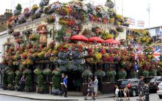 The Churchill Arms Pub in London