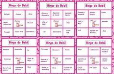 Cha De Bebe Cartelas De Bingo Para Imprimir