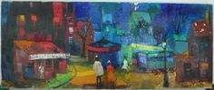 Maurille Prevost, Strolling down French Street, DAC Collection - Donald Art Company Collection