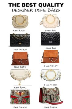 c1adab0b0d58 I ve rounded up some of the most iconic designer styles and their killer  steals. Think Chanel