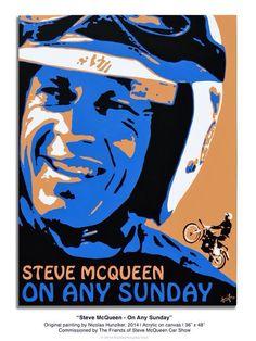 Steve #illustration #design #motorcycles #motos   caferacerpasion.com
