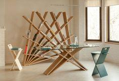 Мебель, разработанная дизайнерской студией Марьям Пости (Studio Pousti)