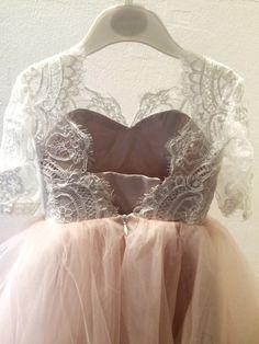 flower girl dress, Espana flower girl dresses, blush flower girl dress, child dress, baby dress, light pink dress, wedding dress by myHoneymoonDress on Etsy https://www.etsy.com/listing/490368047/flower-girl-dress-espana-flower-girl