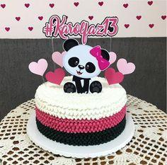 Panda Cupcakes, Panda Themed Party, Panda Party, Torta Baby Shower, Panda Birthday Cake, Birthday Cake Girls, Bolo Diy, Bolo Panda, Panda Baby Showers