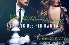 Title: The Castle Author: Skye Warren Series: Endgame #3 Release Date: April 4, 2017 Length: 169 pages Genre: Dark Romance ★★★★★ Goodreads | Amazon ****Blurb**** I'm safe in the ivory tower Gabriel Miller made for me. That's what he says. Enemies lurk outside, waiting to strike. An army of enemies held back by these walls. Except some animal instinct warns me the danger is much closer....