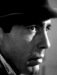 Humphrey Bogart in Casablanca. BOGART RISES TO THE TOP OF MY FAVORITE ACTOR LIST.