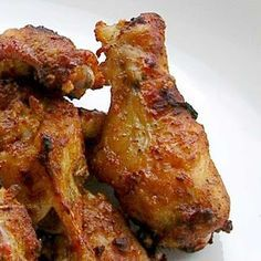 Dragon& Chicken Wings (Portuguese Style ) Recipe by Dragon I& been getting requests for chicken wing recipes, so I thought I& repost. Fried Chicken, Tandoori Chicken, Pollo Chicken, Roast Chicken, Dragon Chicken, Portuguese Recipes, Portuguese Food, Chicken Wing Recipes, Spanish Chicken Wings Recipe