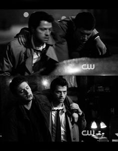 Cas and Dean, the best buds heaven and earth could ask for