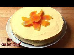 No cook mango cheesecake