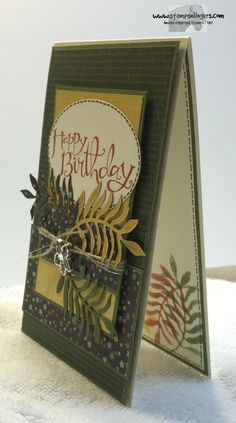 Stampin' Up! Botanical Garden suite in the 2016 Occasions Catalog. http://stampsnlingers.com/2015/11/23/stampin-up-botanical-suite-sassy-birthday-and-the-start-of-online-extravaganza/