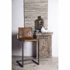 Barkruk Lea Cognac giga meubel