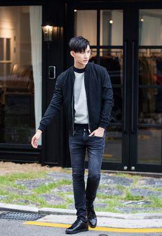 by hyeong seop park fashion мужская мода, мода Asian Men Fashion, Korean Fashion Trends, Korean Street Fashion, Mens Fashion Suits, Urban Fashion, Male Fashion, Male Clothes, Oppa Gangnam Style, Mode Simple