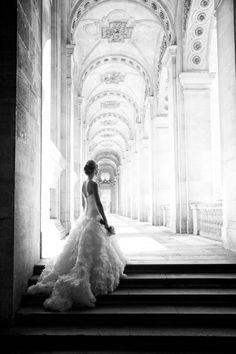 Beauty in Paris: http://www.stylemepretty.com/2015/10/09/romantic-intimate-parisian-wedding/ | Photography: Le Secret D'Audrey - http://www.lesecretdaudrey.com/