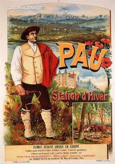 Pau : station d'hiver, un climat sédatif unique en Europe - France -