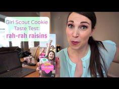 RahRah Raisins! | Girl Scout Cookie Unboxing | MamaKatTV - YouTube