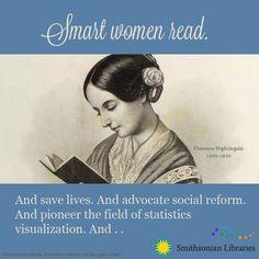 Smart women read.