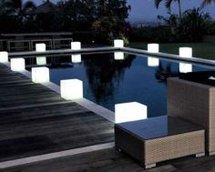 comprar lmpara mesita tipo cubo sin cables jardin jardines iluminacion decoracion
