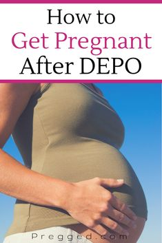 How quickly can you get pregnant after depo provera shots? What can you do to increase your chances of conceiving? Here are our tips. Get Pregnant Fast, Trying To Get Pregnant, Pregnant Diet, Getting Pregnant, Newly Pregnant, Plus Size Pregnancy, Pre Pregnancy, Pregnancy Workout, Pregnancy Health
