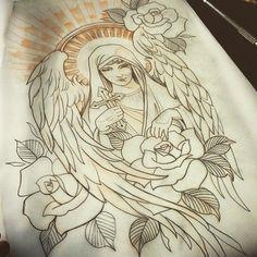 """""""#SearchTattoo #Desenho #Tatuador #Diguinho ➜ @diguinhosanchex  #BomFds """""""