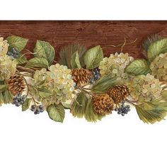 Woodland Swag - Wallpaper Border