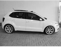 Vw polo gti. Limited edition golf 6 gti rims, sunroof. Black and white. South Africa