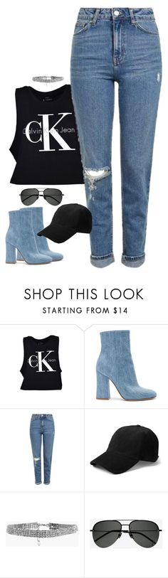 """""""How to Style"""" by emmammh ❤ liked on Polyvore featuring Calvin Klein, Gianvito Rossi, Topshop, rag & bone, Boohoo and Yves Saint Laurent"""