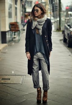 Cozy and Comfortable Winter Street Fashion for Girls