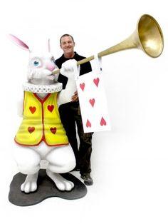 alice in wonderland forte events | Giant 3D Alice in Wonderland Rabbit with Trumpet