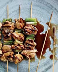 Chicken Yakitori // Grilled Chicken Recipes: http://www.foodandwine.com/slideshows/grilled-chicken #foodandwine