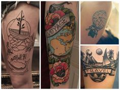 40  pictures of the best travel-themed tattoos - Matador Network