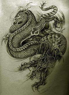 ancient chinese tattoo dragons   Ancient Chinese Dragon Tattoos 1000+ images about dragons - tattoo on ...