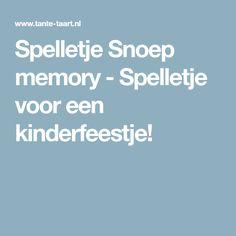 Spelletje Snoep memory - Spelletje voor een kinderfeestje!