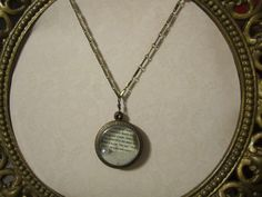 Hunger Games Inspired Peeta's Pearl by RealVintageElegance on Etsy, $30.00