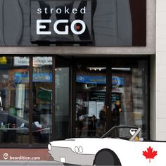 Find Beardition products at Stroked Ego in Ottawa, ON #mensgrooming