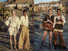 God Save the Queen and all: ALBERTA FERRETTI SPRING-SUMMER 2016 CAMPAIGN #albertaferretti #ss16 #campaign