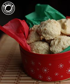 Sour cream drop cookies! Super fluffy, not too sweet, and like a puffy cloud. So yummy!